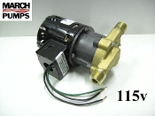March 809 BR 115v  Bronze  hot water pump & parts