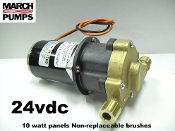 March 24V  Solar & RV Hydronic hot water pumps & parts
