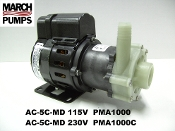March  AC-5C-MD 115v & 230v  Marine air conditioner pump & parts
