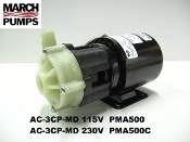 March  AC-3CP-MD 115v & 230v Marine air conditioner pump & parts