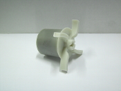 0150-0098-0200 TE-5C Impeller Polypro Encapsulated