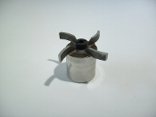 0150-0114-0400 TE-5S SS Impeller with Carbon Bushing