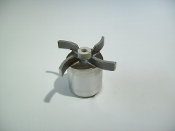 0150-0114-0600 TE-5S SS Impeller with Mica Teflon Bushing
