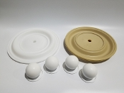 N08-9804-55-201 Full Flow Teflon Elastomer Kit