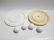 N08-9804-55-202 Full Flow Teflon Elastomer Kit