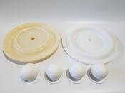N08-9814-55-202 Full Flow Teflon Elastomer Kit
