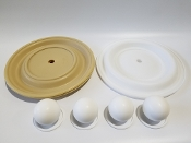N08-9814-55-201 Full Flow Teflon Elastomer Kit