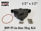 March 809 PL in-ling Hsg Kit