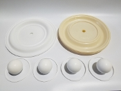 N08-9824-55-202 Full Flow Teflon Elastomer Kit XPS-820 830